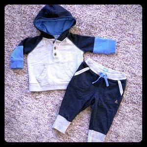 Baby Gap Baby Bear Blues Sweatsuit